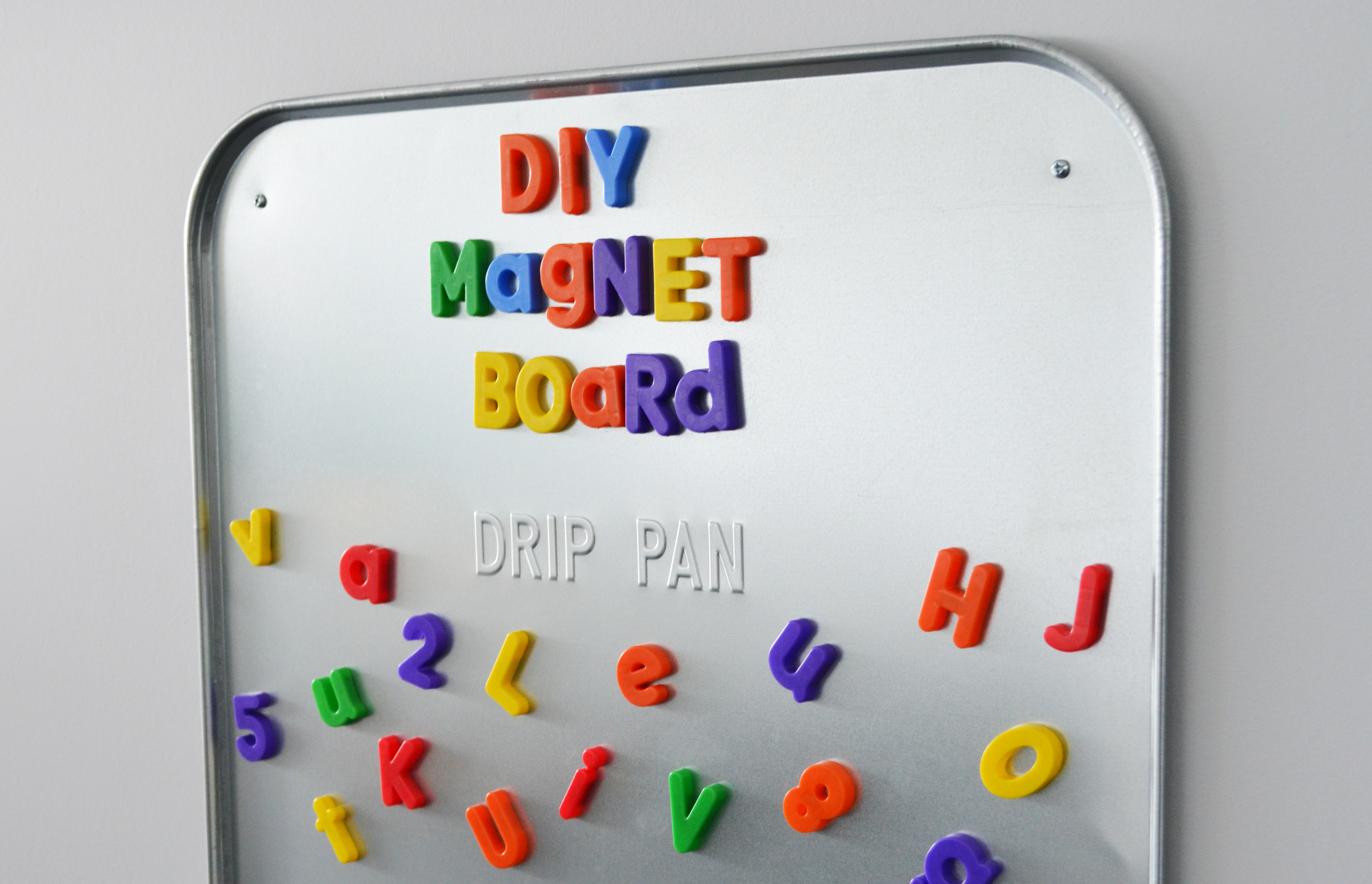 Magnet For Car >> DIY Magnet Board - Whisking Mama
